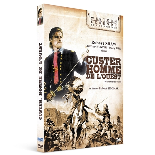Custer, l'homme de l'Ouest : Robert Shaw, Mary Ure, Ty Hardin