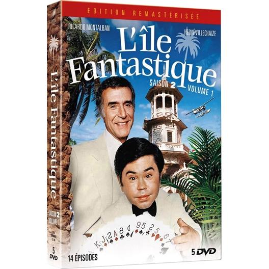 L'île fantastique - Saison 2, volume 1 : Ricardo Montalban, Hervé Villechaize, ...