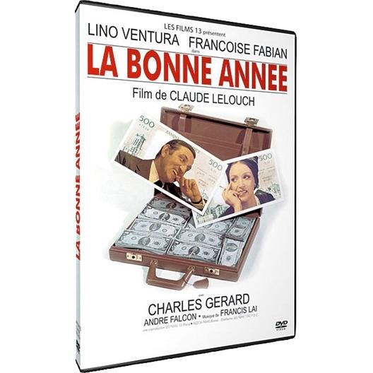 La bonne année : Lino Ventura, Françoise Fabian, Charles Gérard