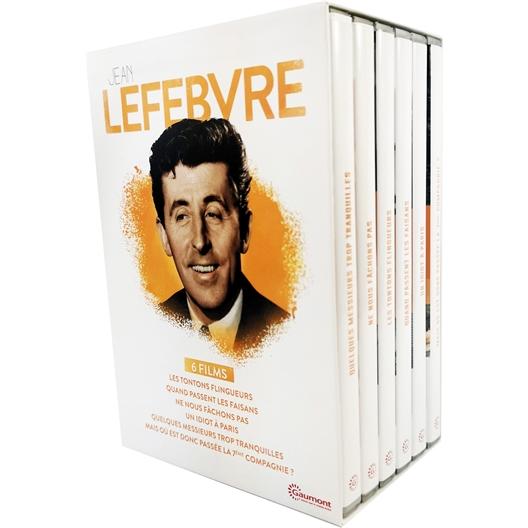 6 DVD Jean Lefebvre 6 comédies cultes