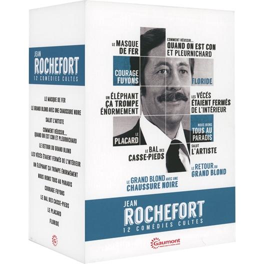 Jean Rochefort : Coffret 12 films