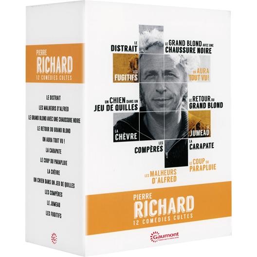 Pierre Richard : Coffret 12 films