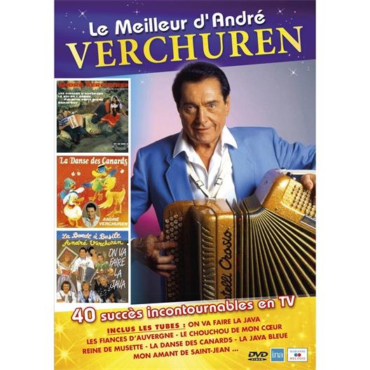 Le Meilleur d'André VERCHUREN en DVD : 40 succès incontournables en TV