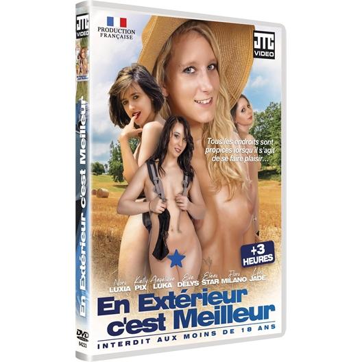 DVD En extérieur, c'est meilleur : Nora Luxia, Kelly Pix...