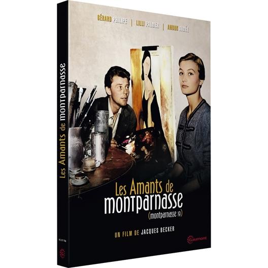Les Amants de Montparnasse : Gérard Philippe, Lilli Palmer, Lino Ventura