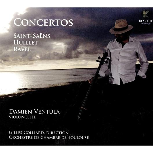 Camille Saint-Saëns : Concerto pour violoncelle par Damien Ventula