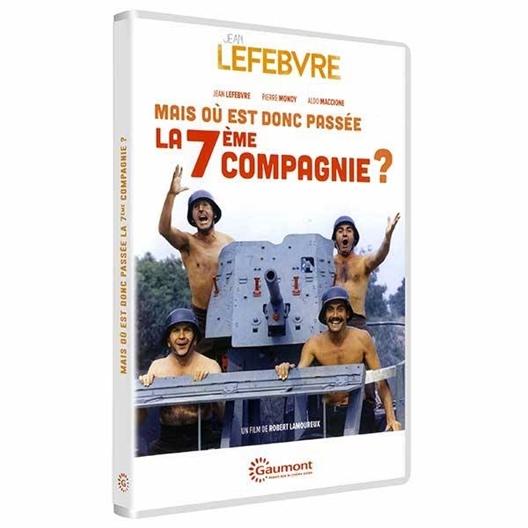 Mais où est donc passée la 7ème compagnie ? : Jean Lefebvre, Pierre Mondy, Aldo Maccione, ...