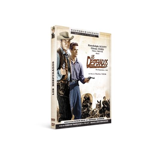 Les desperados : Randolph Scott, Claire Trevor…