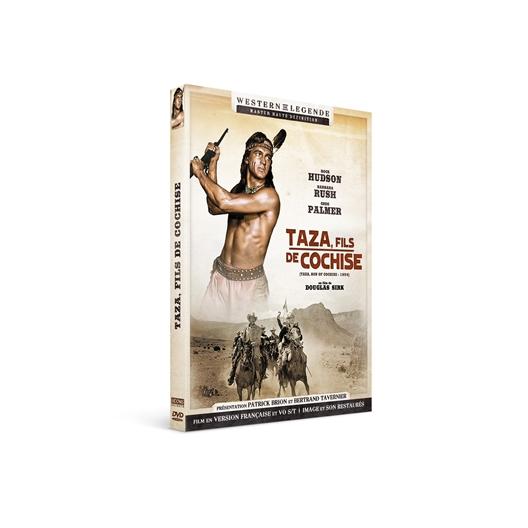 Taza fils de Cochise : Rock Hudson, Barbara Rush