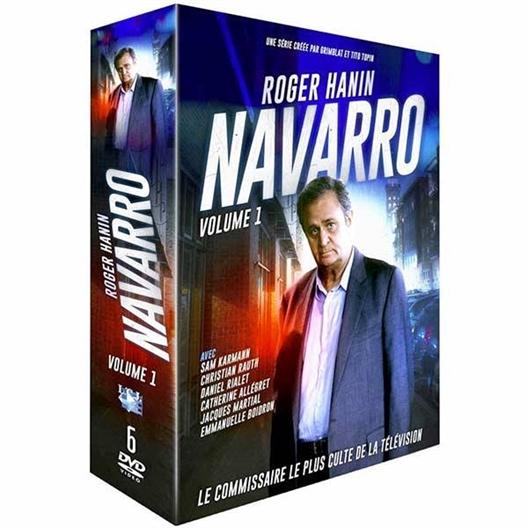 Coffret Navarro - Volume 1 : Roger Hanin, Christian Rialet, ...