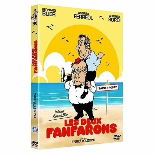 Les deux fanfarons : Alberto Sordi, Bernard Blier, Andréa Ferréol, …