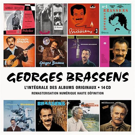 Georges Brassens : Intégrale des Albums Originaux