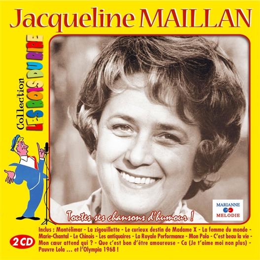 Jacqueline Maillan : Toutes ses chansons d'humour !