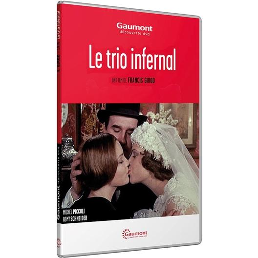 Le trio infernal : Michel Piccoli, Romy Schneider...