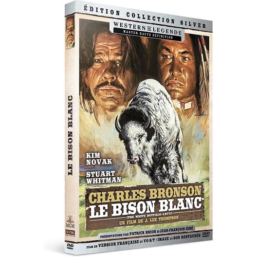 Le bison blanc : Charles Bronson, Kim Novak, …