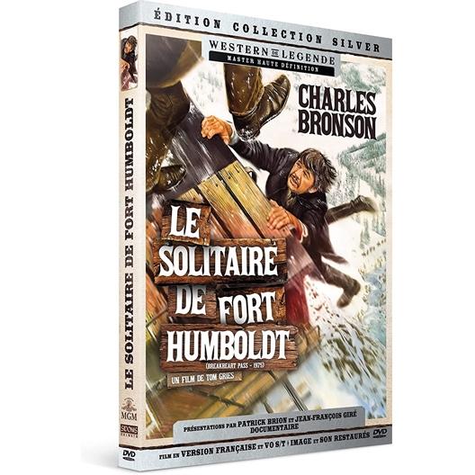 Le solitaire de Fort Humboldt : Charles Bronson, Ben Johnson, …