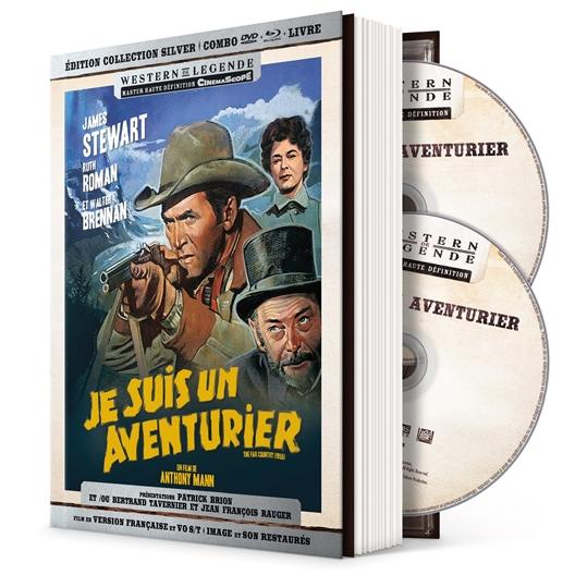 Je suis un aventurier : Anthony Mann, James Stewart, Walter Brennan, …