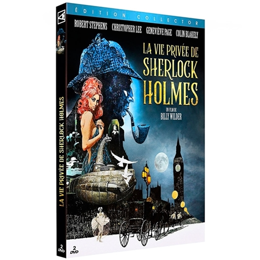 La vie privée de Sherlock Holmes : Robert Stephens, Colin Blakely, Geneviève Page