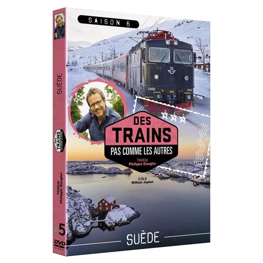 DVD La Suède en train