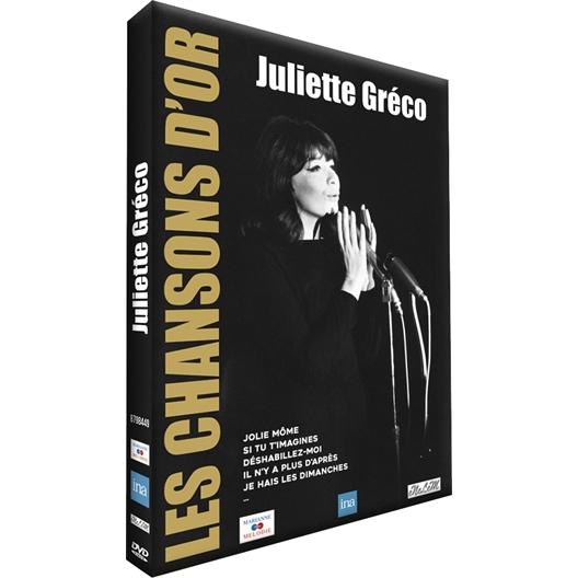 Juliette Gréco : Les chansons d'Or