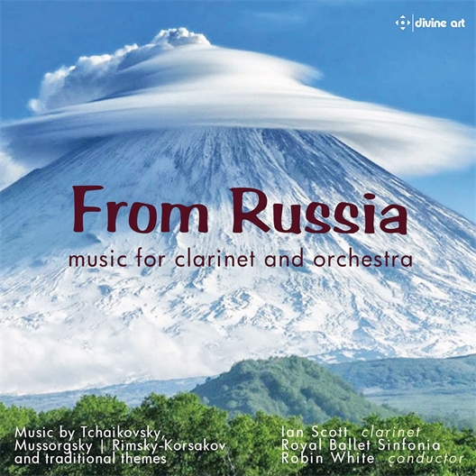 Musique de Russie pour clarinette