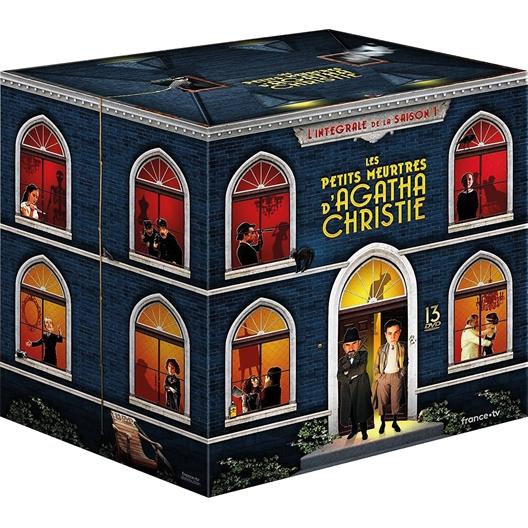 Les petits meurtres d'Agatha Christie – Saison 1 : Antoine Duléry, Marius Colucci, …