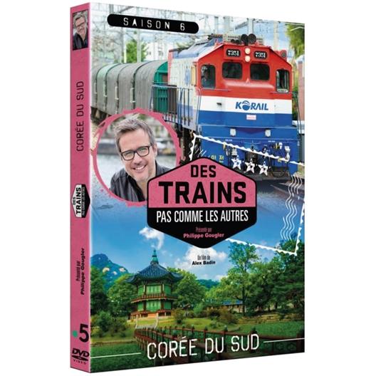Corée du Sud en train