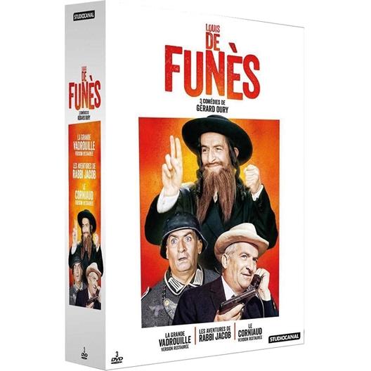Louis de Funès - Coffret : Louis de Funès, Bourvil, …