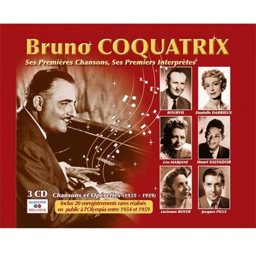 Bruno coquatrix chansons et opérettes (1935-1959)