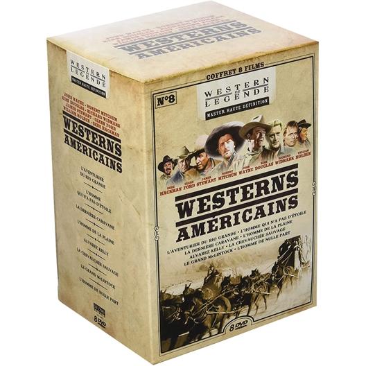 Westerns américains : John Wayne, Kirk Douglas, Glenn Ford, …