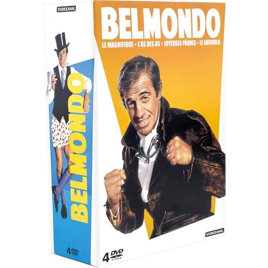 Jean-Paul Belmondo : Coffret 4 films