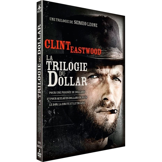 LA TRILOGIE DU DOLLAR Coffret Clint Eastwood