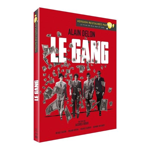 Le gang : Alain Delon, Nicole Calfan, Xavier Depraz