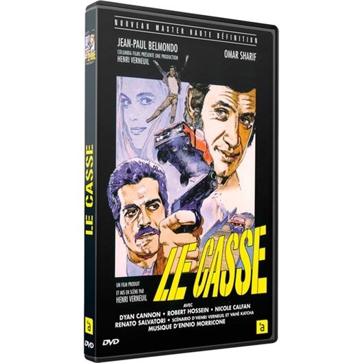 Le casse : Jean-Paul Belmondo, Omar Sharif, Robert Hossein, ...