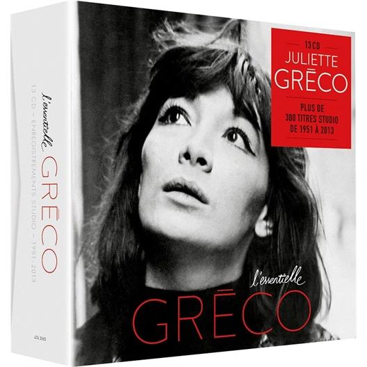 Juliette Gréco : L'essentielle (coffret 13 CD)