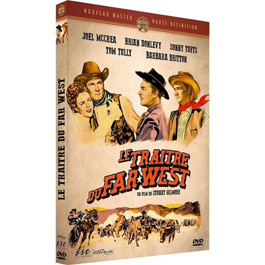 Le traitre du Far-West : Joel McCrea, Bryan Donievy, Barbara Britton...