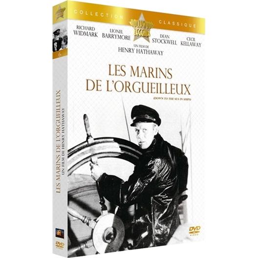 Les marins de l'orgueilleux : Richard Widmark, Lione Barrymore