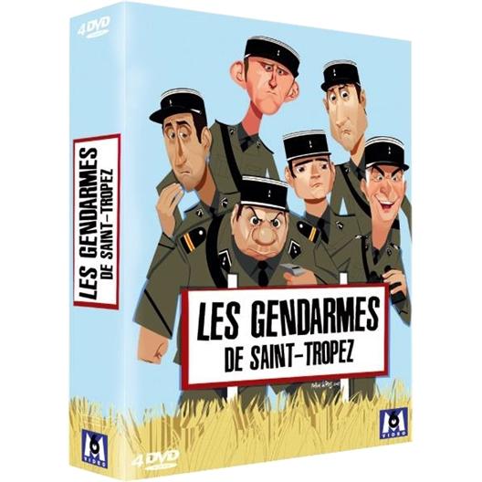 Les gendarmes de Saint Tropez : coffret 4 DVD