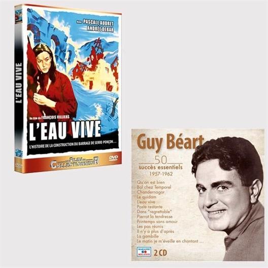 LOT 2 CD + DVD l'eau vive Guy Béart