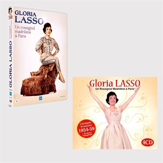 "Le lot ""Rossignol Madrilène"" : DVD + 4 CD"