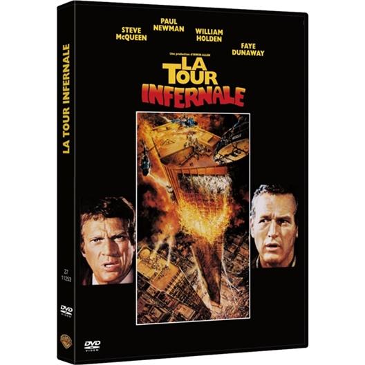 La tour infernale : Paul Newman, Marcel Bozzuffi, Steve McQueen…